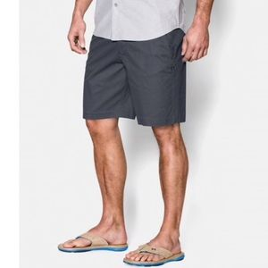 Under Armour Performance Gray Chino Short 38 W